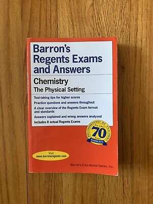 Barron's Regents Exams And Answers Chemistry The Physical ...