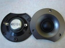 2pcs 25MM fiber membrane Tweeter Neodymium magnet horn for DIY HIFI sound