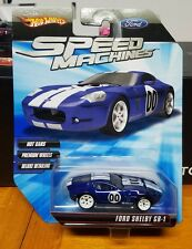 Hot Wheels Speed Machines Ford Shelby GR-1