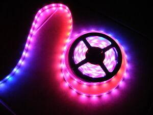 12v volt led crazy lights tape rope lighting multi colored