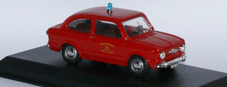 TEL Modèle 04 Fiat 850 LH Lecteur incendie voiture en 1 43