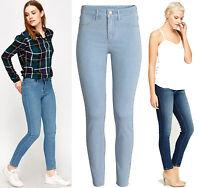 Womens New Ladies Ex-Zara Slim fit Denim Jeans Pants Trousers Plus Sizes UK 8-18