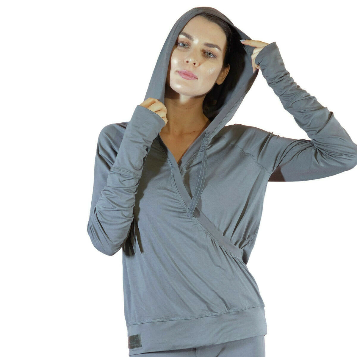 FACEPLANT Bamboo® Credver Hoodie - Earl Grey Size X-Large