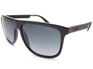 Carrera 9o Matte Black Bil Shiny Lenses 5003 3 Sunglasses Gradient Grey Cat OxwPx1
