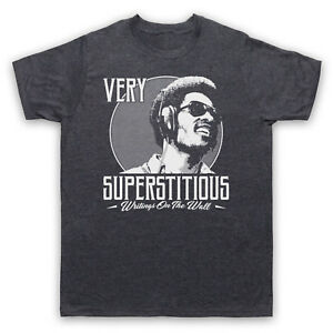 STEVIE-WONDER-SUPERSTITIOUS-WRITINGS-ON-THE-WALL-SOUL-ADULTS-amp-KIDS-T-SHIRT