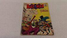 BATMAN #95 - 1955 Comic Book / Featuring: THE BALLAD OF BATMAN!
