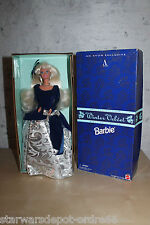 Barbie Winter Velvet 1995 Collection Avon Blonde