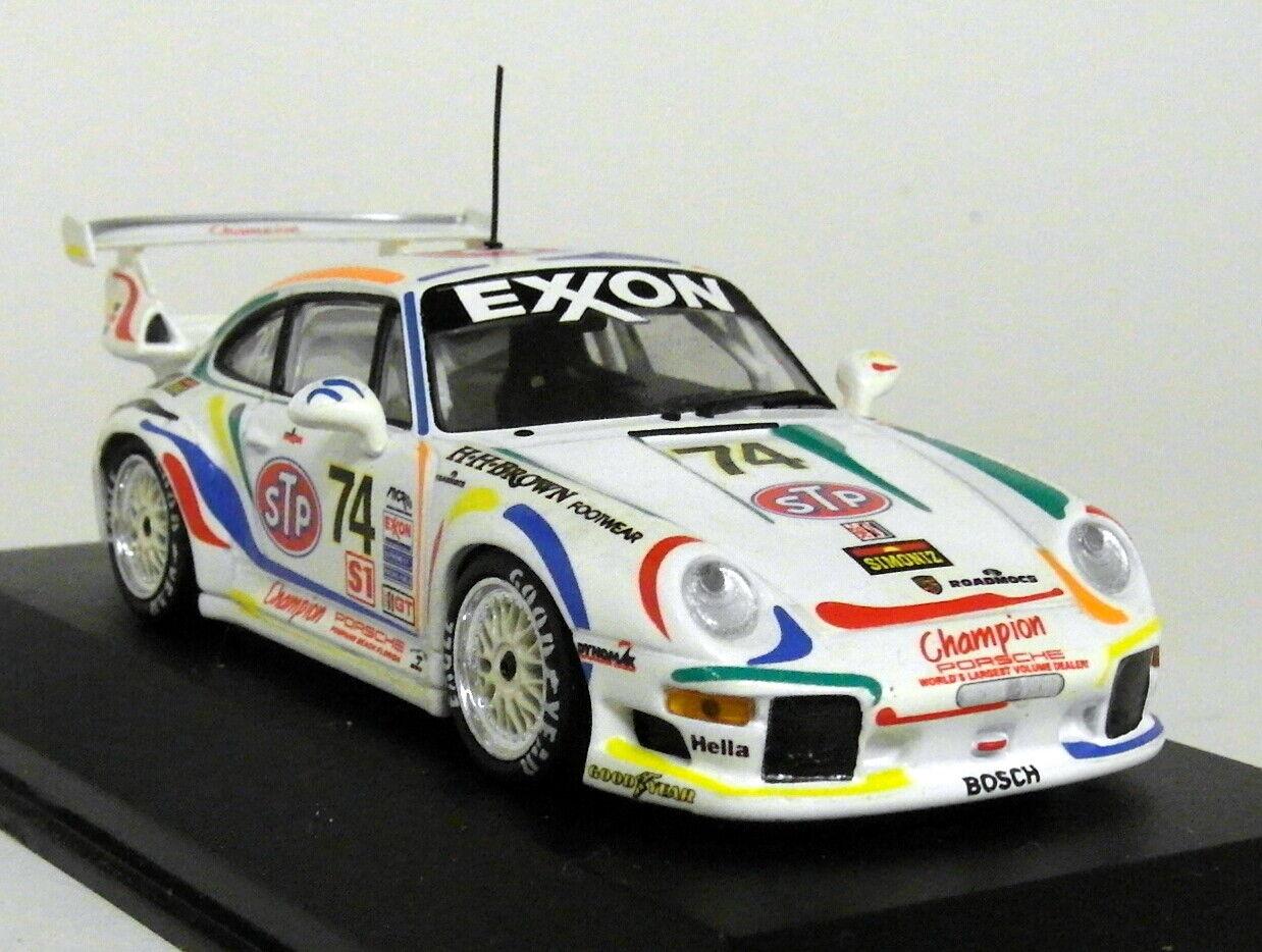orden ahora con gran descuento y entrega gratuita Minichamps Escala 1 43 - Porsche 911 GT2 24H Coche Coche Coche Modelo Diecast pegado Daytona'96  contador genuino