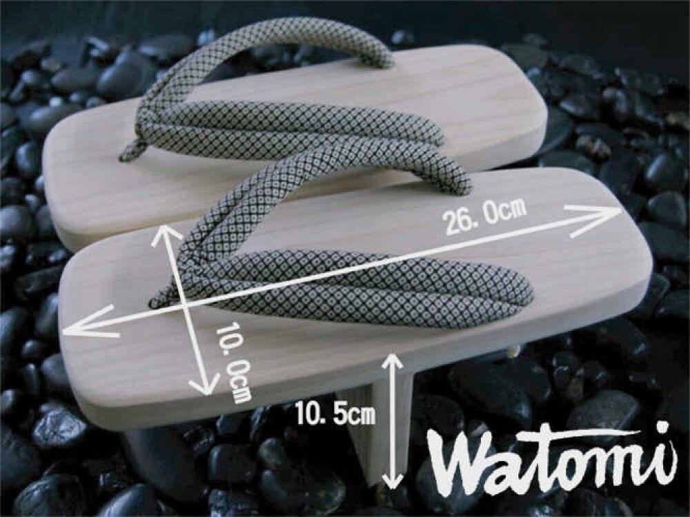 Giapponese Tradizionale Legno in Legno Tradizionale One-Tooth Tengu Geta Footware con Tracking 99df81
