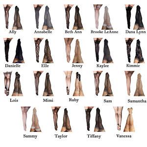 b0508248a Kixies Kix ies Thigh High Stockings Stay Put No Roll Top Reg and ...