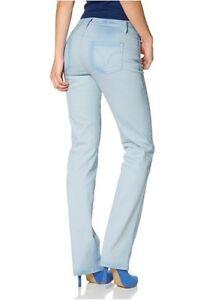 Details zu Arizona Jeans L Gr.76,84,88 (38 44) NEU Damen Denim Hose Stretch Light Blau L34