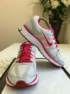 Permanente riñones Torrente  NIKE AIR PEGASUS 28 Women Shoes S 8.5 White Pink Lace Up Running 443802162    eBay