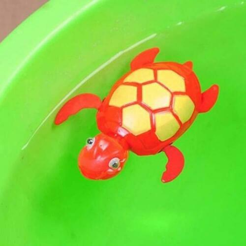 3x Swimming Wind-up Turtle Animal Toy Child Baby Kids Bath Time Clockwork Float