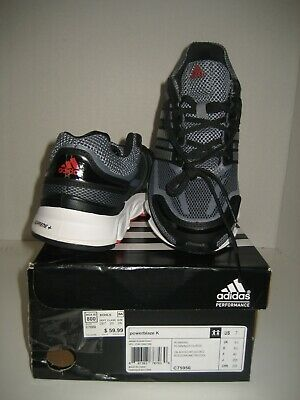 NEW Adidas Youth Big Boy PowerBlaze US 7 Black Silver Red Running Shoes Sneakers 887383767030 | eBay