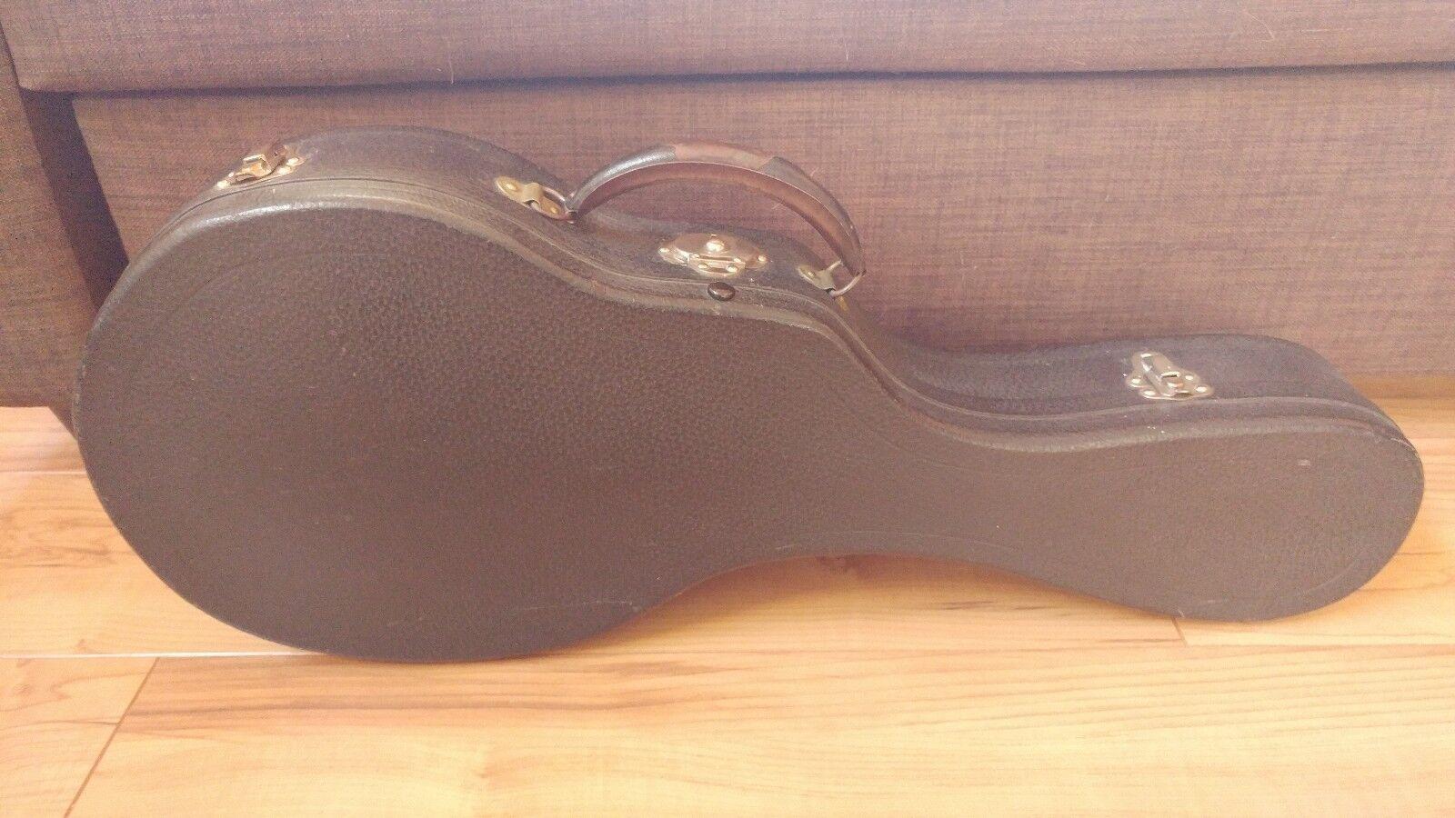 Vintage 1920's era Bulls Head Mandolin case for Gibson F2, F4 Excel condition
