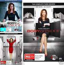 Body Of Proof Series : SEASON 1, 2 & 3 : NEW DVD