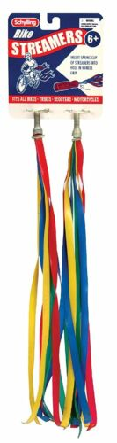 Schylling Toys Rainbow Plastic Bike//Bicycle Streamers #BS