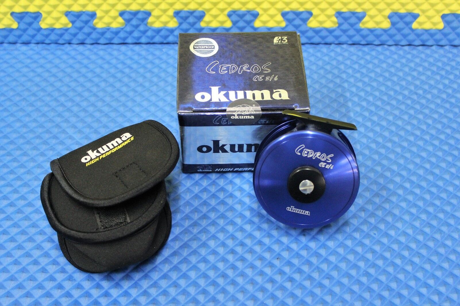 Okuma Cedros Saltwater Fly Fishing Reel Waterproof Drag System Model CE 5 6