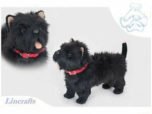 Standing Black West Highland Terrier ( Westie) Plush Soft ...