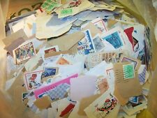 OVER 1.5 KG 1.5 KILO BRITISH GB ON OFF PAPER 1000's STAMPS UK OLDER KILOWARE VGC