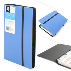 Business card holders 20143cm business name id credit card holder book case organizer 180 cards colourmoves