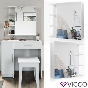 Détails sur VICCO Coiffeuse meuble de maquillage \