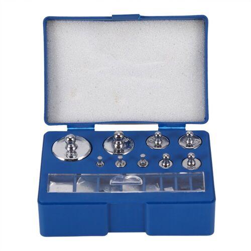 200g Weight Set 17Pcs 211.1g 10mg-100g Calibration Grams Jewelry Scale Test Set