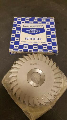 "Union Butterfield 5/"" x 5//32/"" x 1/"" High Speed Metal Slitting Slotting Saw"