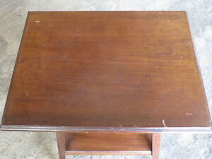 ancienne petite table d 39 appoint salon table basse d co chalet montagne brocante ebay. Black Bedroom Furniture Sets. Home Design Ideas