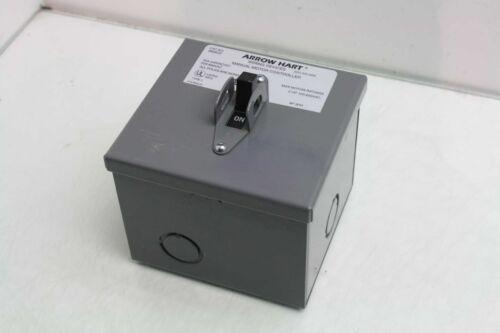 Arrow Hart 8808GD Manual Motor Controller 30A @ 240V AC//DC 2 HP Motor