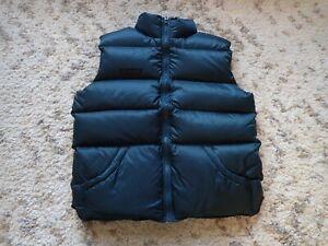 Columbia-Down-Filled-Puffy-Vest-Dark-Teal-Men-039-s-Size-Medium-Mint-Ultra-puff