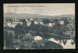 AK-Jannowitz-Papierfabrik-mit-Kupferberg-per-Bahnpost-gelaufen-1918-57046