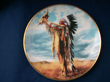 """Franklin Mint """"Prayer To The Great Spirit """" US Indian plate"""