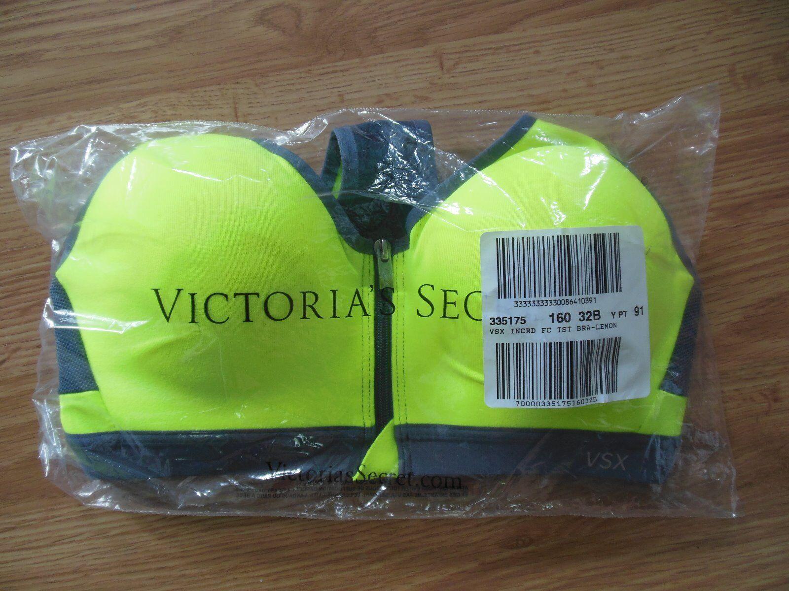 NWT Victoria's Secret Sport Incredible Front-Close Sprt Bra 32B