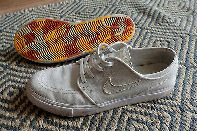 Casa incidente valor  Nike SB Zoom Stefan Janoski White Canvas Deconstructed Skateboarding Shoe  UK 7.5 | eBay