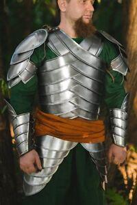 Medieval-LARP-Steel-Armor-Second-Age-Elves-Full-Armor-Suit-Halloween-Cosplay