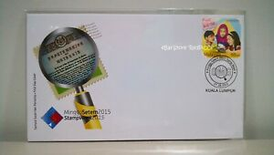 MALAYSIA-Stamp-Week-2015-Stamp-FDC
