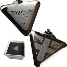 Triumph Motorcycle Pendant Chain Necklace