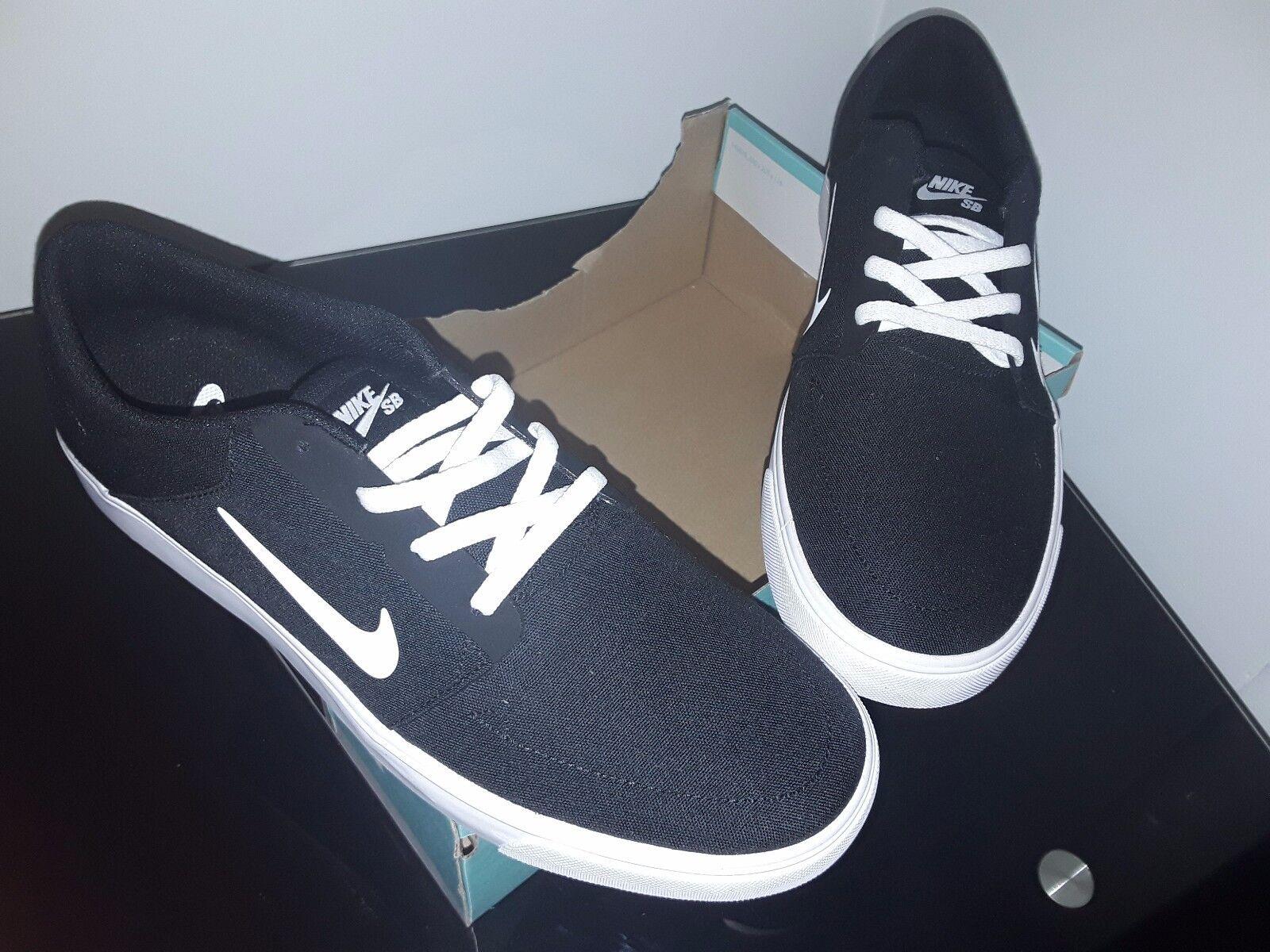 Nike SB 001 PORTMORE CNVS Zapatos  723874 001 SB nuevo para hombre e8d4a4