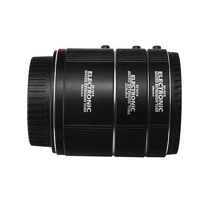 Electronic AF Auto Focus Macro Extension Tube 13 20 36mm Set DG fr Canon EF EF-S