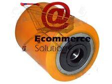 GALET COMPLET VULKOLLAN 80 95 97 20 mm BT TOYOTA TRANSPALETTE MANUEL ELECTRIQUE