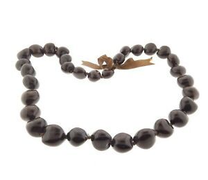 Hawaii-Brown-Kukui-Nut-Lei-Necklace-1-x-32-Inch