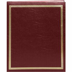 Pioneer-Photo-Albums-SJ-100-Jumbo-11-x-14-034-Scrapbook-Album-Burgundy