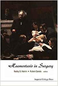 HAEMOSTASIS IN SURGERY, Very Good, CANELO RUBEN, HAKIM NADEY Book