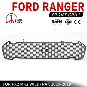 Front-Grill-Insert-For-FORD-Ranger-PX2-MK2-WILDTRAK-2015-2019-Models-Black