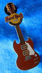 San-Antonio-Santana-Marrone-Sg-Gibson-Memorabilia-Muro-Chitarra-Hard-Rock-Cafe-A