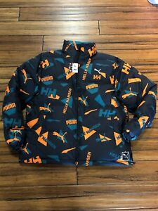Details about PUMA X Helly Hanson Jacket 597081 98 300 GREEN HH NEW 2019  FALL