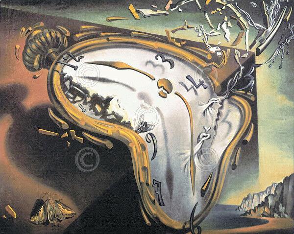 SALVADOR DALI VERICHRON KIRCH MELTING CLOCK. 14 x 11. WORKS for ...