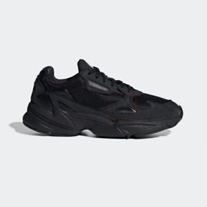 Details about New Adidas Originals Falcon W (G26880) Black, Women's Running Shoes Sneakers