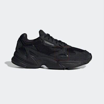 New Adidas Originals Falcon W (G26880) - Black, Women's Running Shoes  Sneakers | eBay